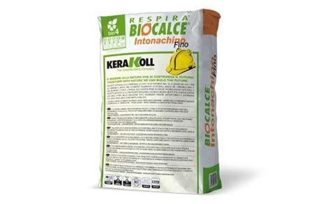 Biocalce  Intonaco Fino  Case Ecologice